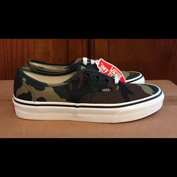 3a269fc39f575 Vans Shoes | New Authentic Era Woodland Camo Sz 5 Wmn 65 | Poshmark
